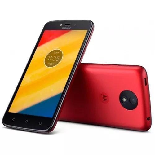 Motorola moto c plus xt1725 one sim 16gb 4g vermelho oferta