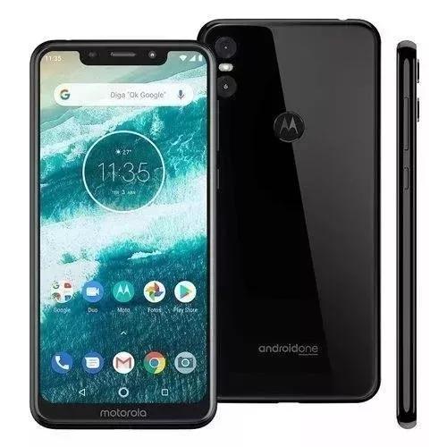 Motorola one 5,9,4g, 64gb,13mp - xt1941-4 lacrado + brinde