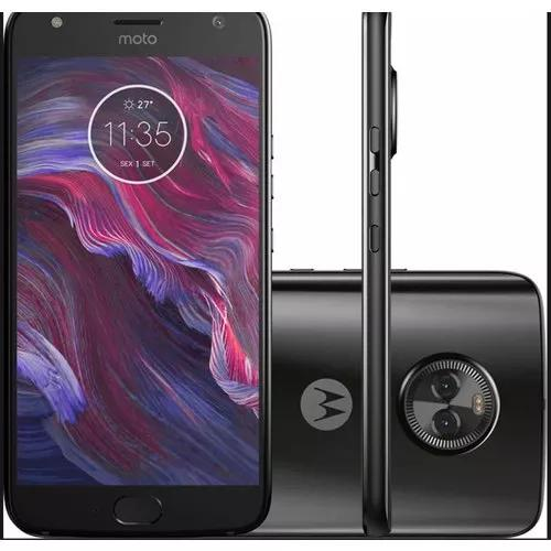 Motorola x4 xt-1900 64gb/4g/dual sim /tela 5.2 capa e pelicu