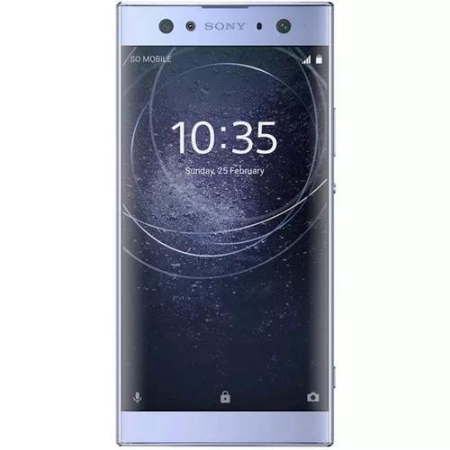 Smartphone sony xperia xa2 ultra 32g h3223 - **detalhe tela