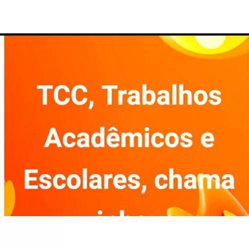 Tcc, trabalhos acadêmicos e escolares - formatação