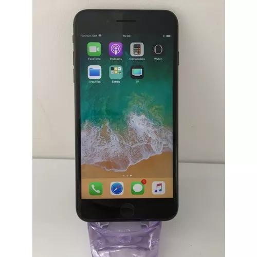 Iphone 8 plus 64g space gray, prata vitrine - garantia e nf