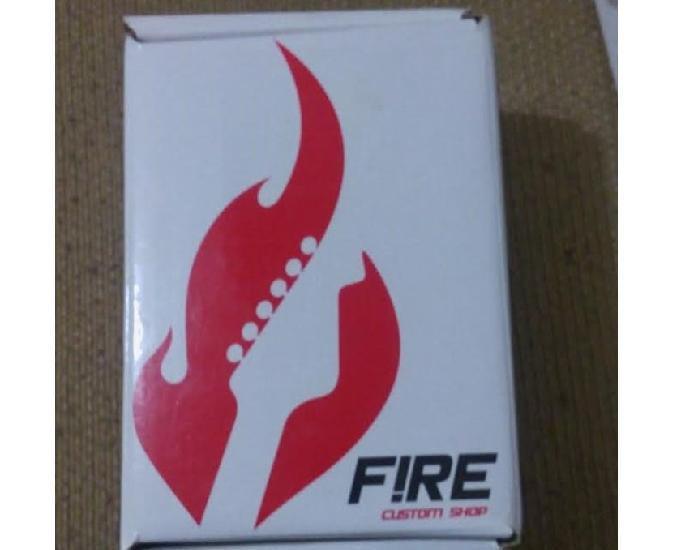 Pedal fire frete grátis power booster custom shop