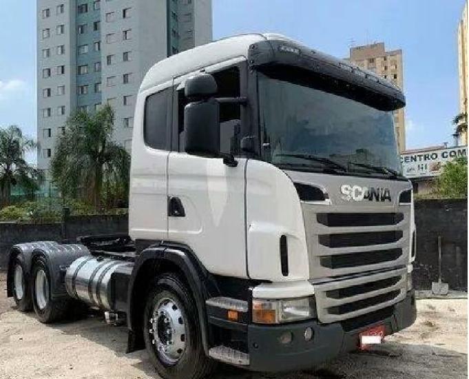 Scania g380 2010 trucada (parcelado)