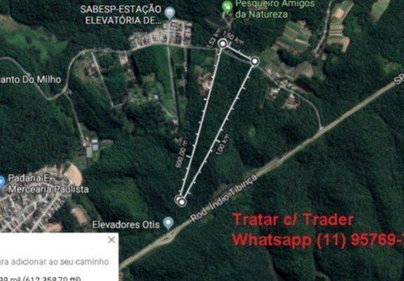Vende-se terreno de 56.615 m2 riacho grande - ótimo p/