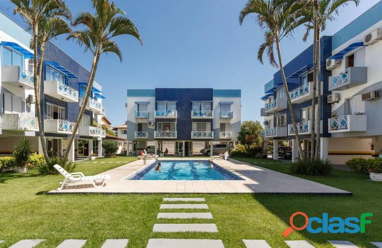 Locação anual   apartamento à 150 metros do mar com dois dormitórios