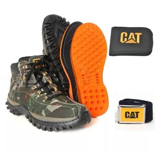 Coturno bota caterpillar masculino original oferta
