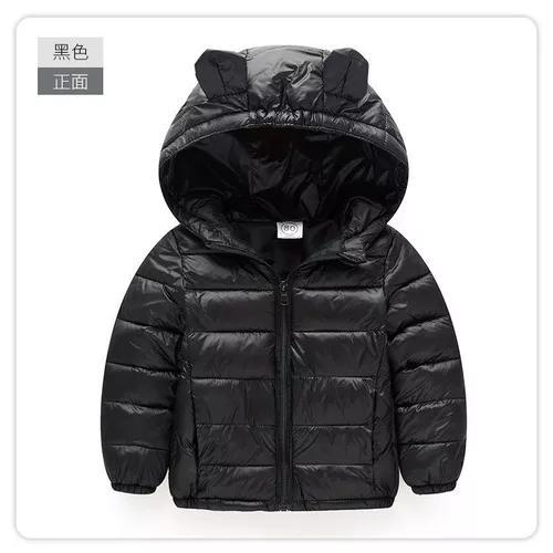 Jaqueta de frio infantil casaco criança super light