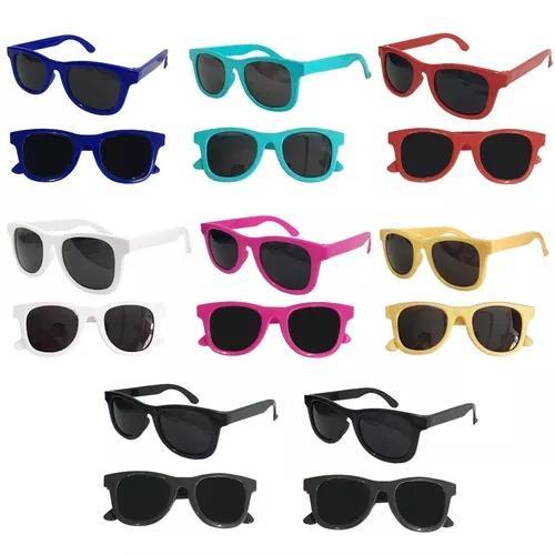 Kit 18 óculos sol infantil criança uv400 promoção
