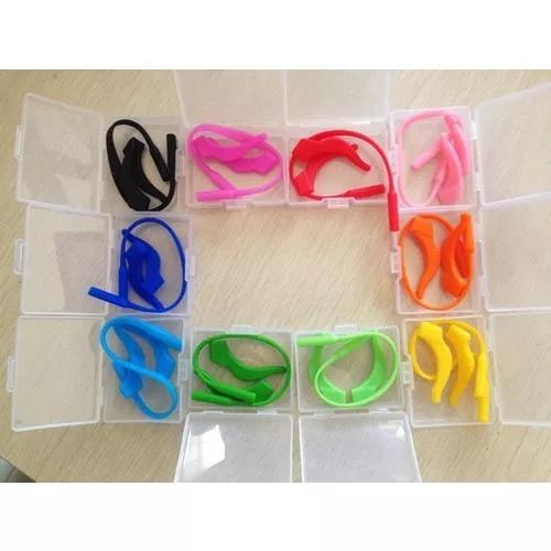 Kit de óculos criança cordão + prendedor de orelha