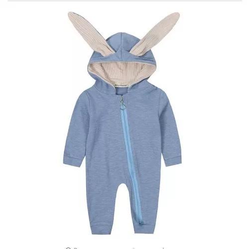Macacão do bebê roupa coelho para criança bonito body