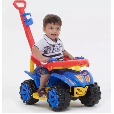 Quadriciclo motoca infantil criança carrinho menino(a)