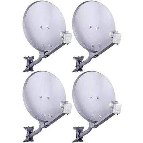 Apontamento e instalação de antenas de tv via satélite.