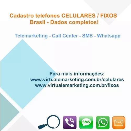Cadastro telefones_celulares ou_fixos tel