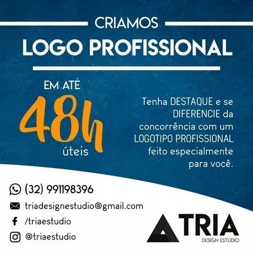 Criação De Logomarca Logo Logotipo Profissional