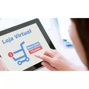 Criação de loja virtual + domínio + um ano de hospedag