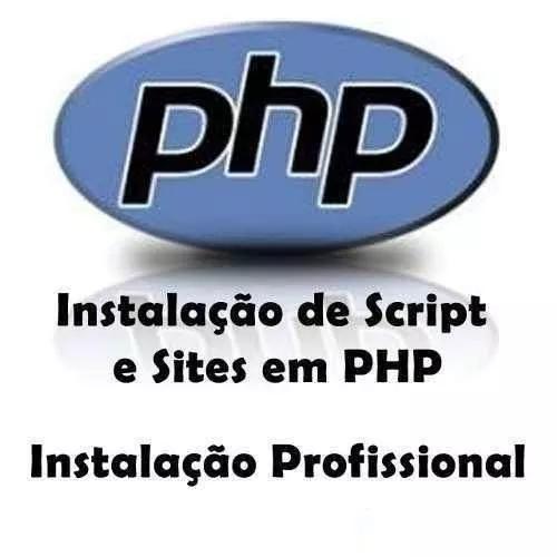 Instalação configuração scripts php mysql sites sist