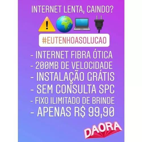 Internet oi fibra