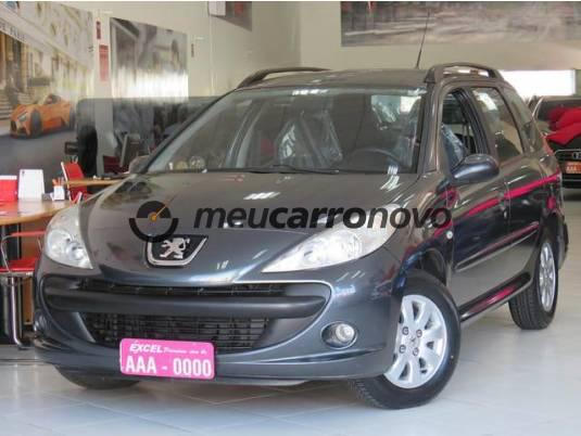 Peugeot 207 sw xr sport 1.4 flex 8v 5p 2009/2009