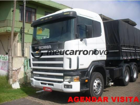 Scania r-124 ga 420 6x4 nz 2p (diesel) 2006/2006