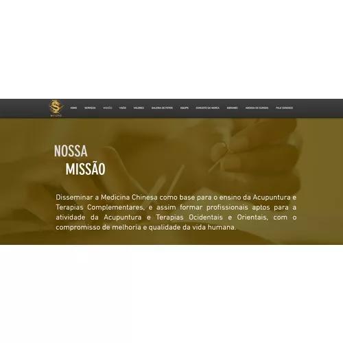 Website responsivo + vídeo comercial c/ locução