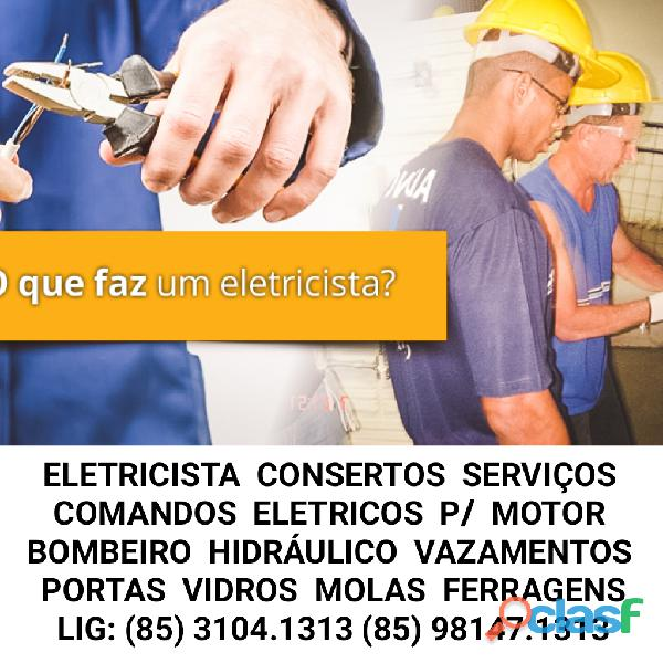 Eletricista fortaleza 24 horas (85) 3104.1313 (85) 98147.1313