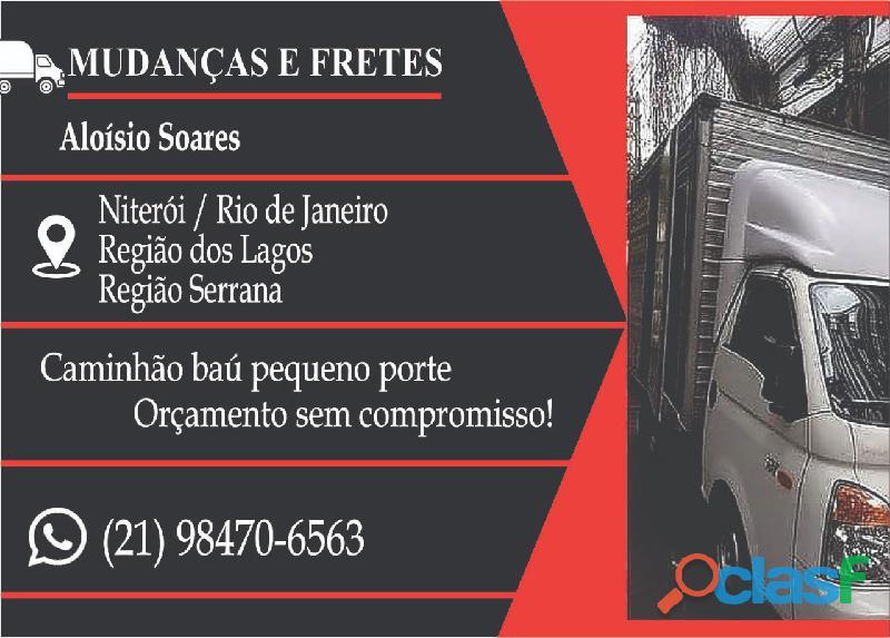 Niterói servicos de fretes e mudanças 98470 6563