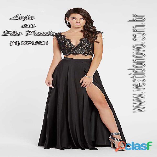 Vestido preto da loja vestido novo zona sul de são paulo