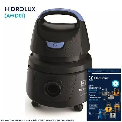 Aspirador de água e pó hidrolux electrolux (awd01)