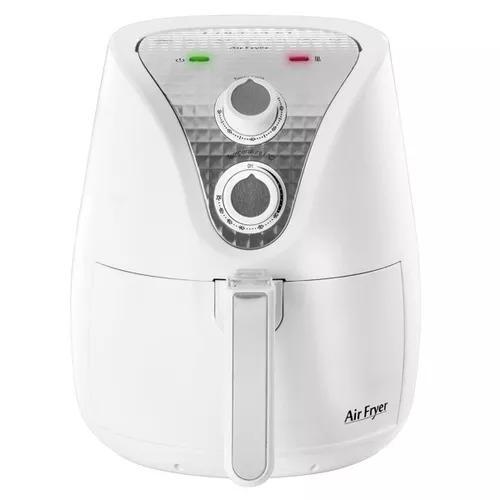 Fritadeira elétrica air fryer colormaq 1500w 3,6l branca