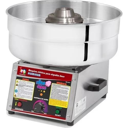 Máquina de algodão doce ad-43 aluminum profissional