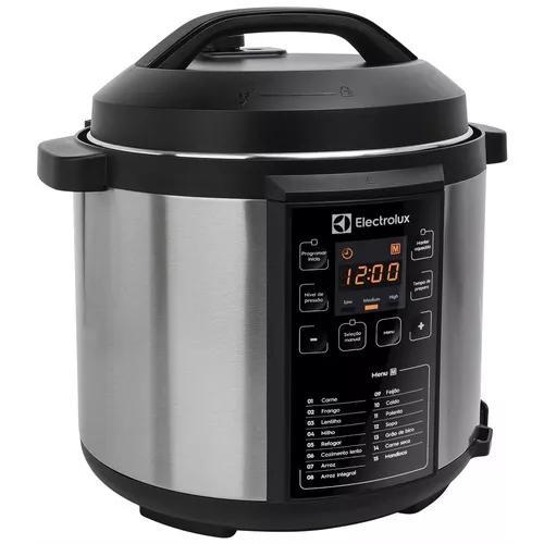 Panela de pressão elétrica electrolux chef pcc20 6 litros