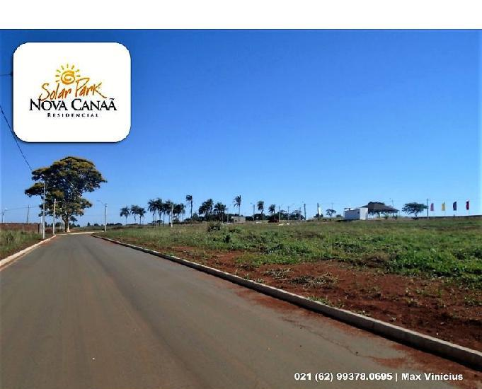 Solar park nova canaã |*lote: 1.000 m²|* ato: r$ 40.000,00