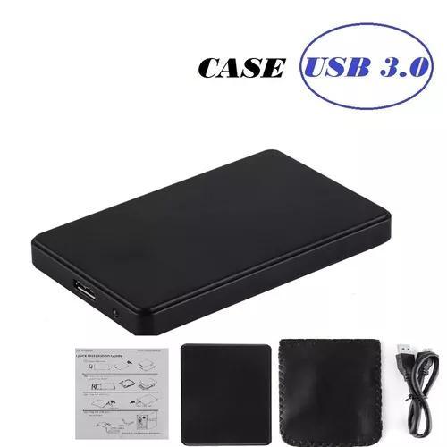 Case gaveta externo usb 3.0 ssd hd sata 2,5 barato