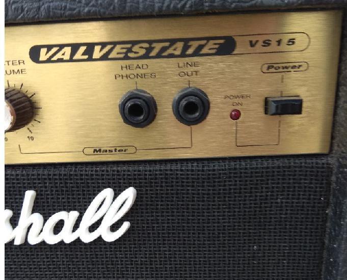 Guitara fender squier strato vermelha + ampli marshall vs15