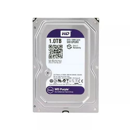 Hd 1tb western digital purple wd10purx dvr intelbras