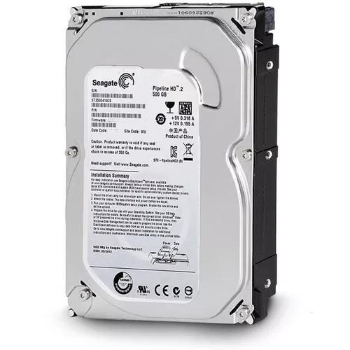 Hd 500gb seagate sata desktop novo