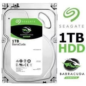Hd interno seagate 1tb desktop barracuda sata 64mb 3.5 7200r