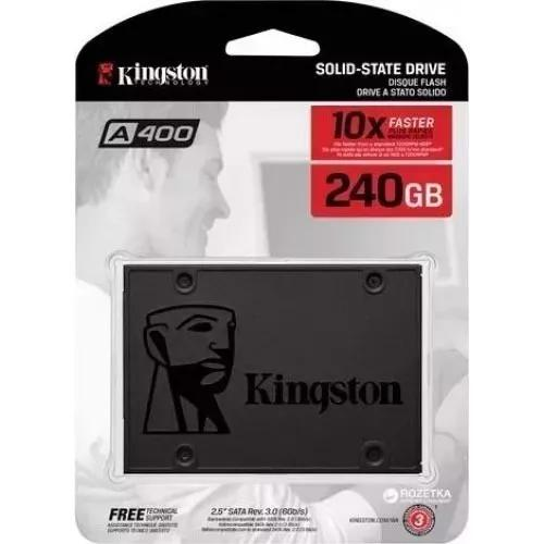 Hd ssd 240gb sata3 kingston a400 lacrado