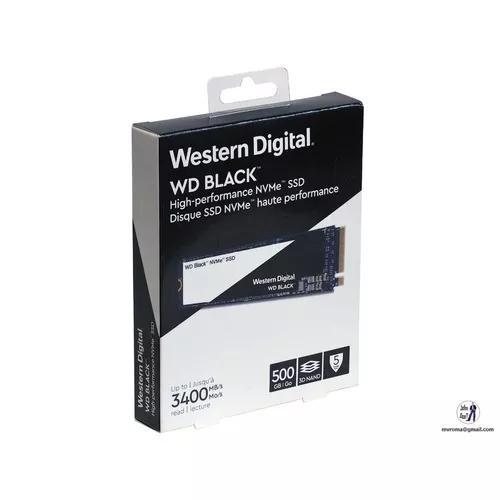 Ssd m.2 500gb western digital black pci-e gen 3 wds500g2x0c