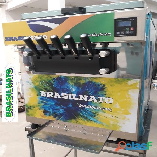 Máquina de sorvete fábrica em sp