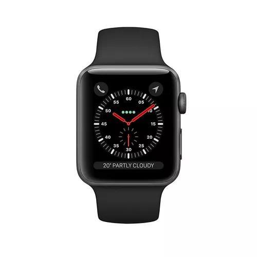 Apple watch series 3 gps 38mm s3 prova d'água lacrado