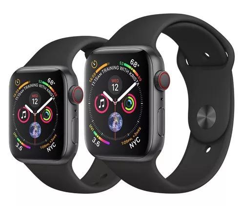 Apple watch série 4 40mm gps + celular +nota
