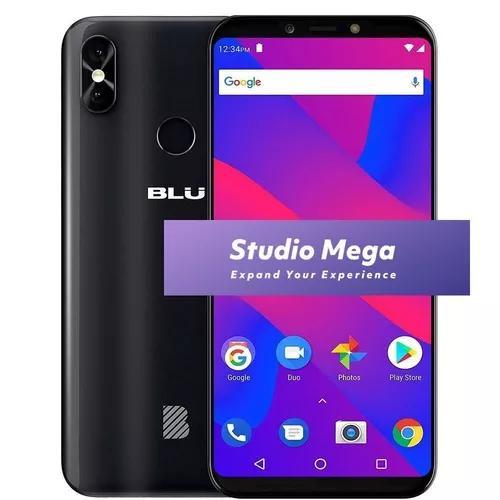 Blu studio mega dual camera 13+2mp tela gigante 6.0 - 1g ram