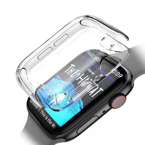 Capa case para apple watch tpu series 1/2/3/4 38/40/42/44mm