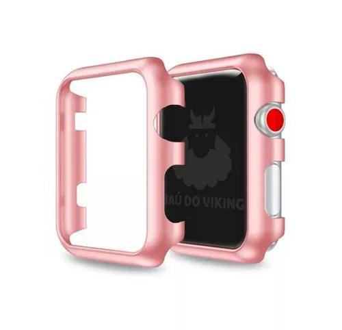 Case bumper rigido slim milanese apple watch 42mm 38mm 1 2 3