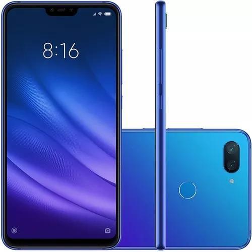 Celular xiaomi mi 8 lite dual 64gb 4gb ram azul/película