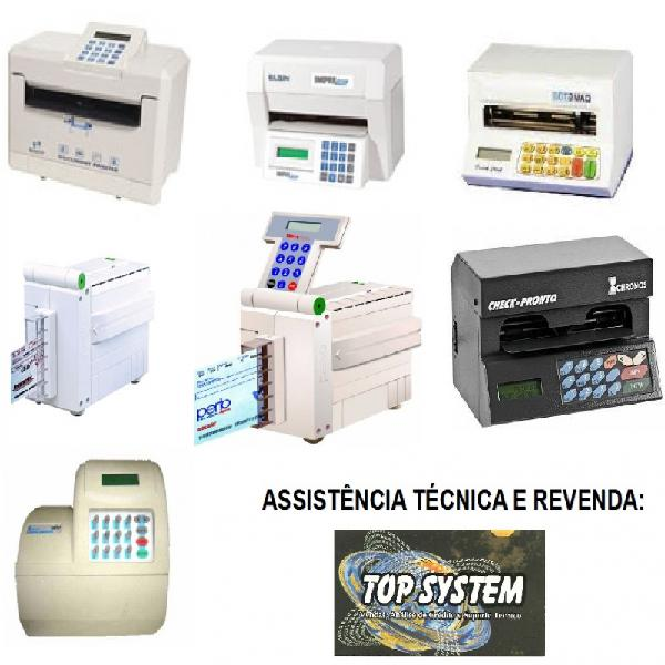 Instalação, configuração e conserto de máquinas de