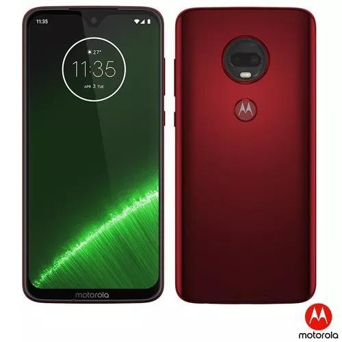 Motorola moto g7 plus 64gb câmera dupla tela 6,24 nota fisc