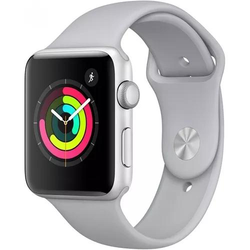 Relógio apple watch series 3 42mm novo lacrado c nota